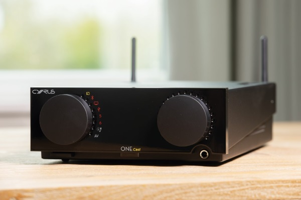 Cyrus One Cast streaming amplifier announced