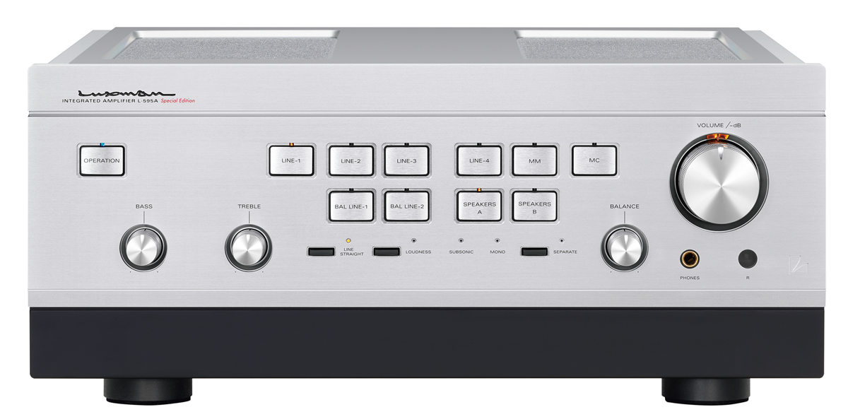 Luxman Launch Limited Edition L595 Amplifier