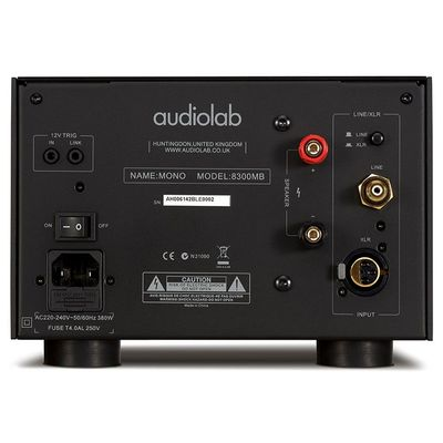 Audiolab 8300MB Mono Power Amplifiers Rear